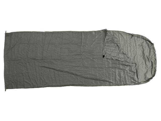 Basic Nature Drap de sac de couchage en soie - Drap de sac de couchage - couverture gris